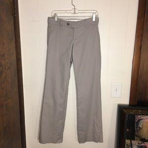 Banana Republic 4 gray slacks stretch dress pants